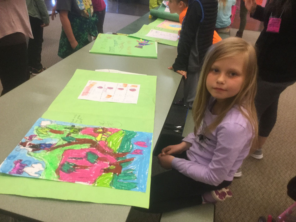 2017-05-17 First & Second Grade Art Show